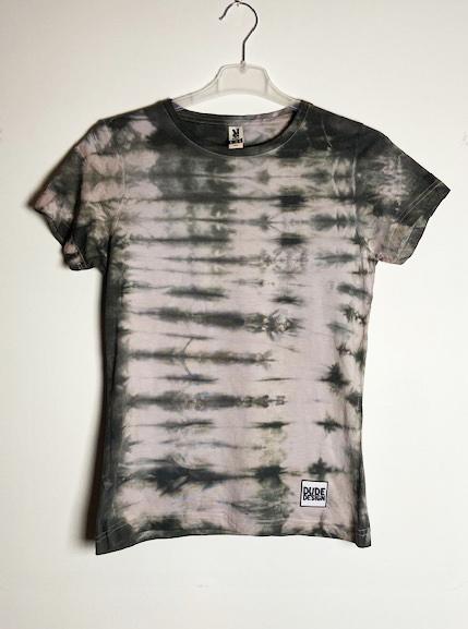 Grå batik T-shirt