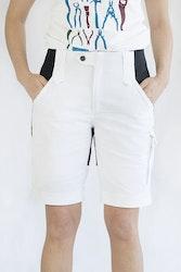 ANN Paint Shorts -White