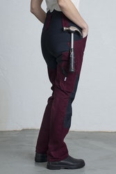 AVA Work Trousers -Burgundy