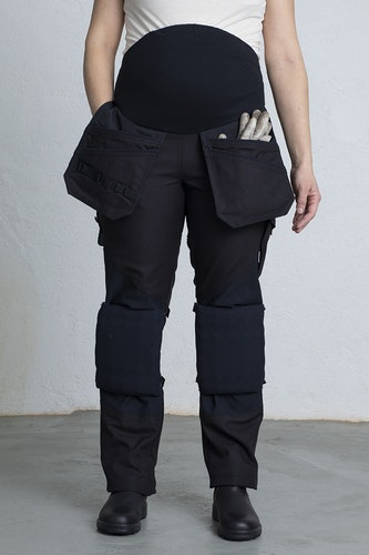 ROSMARI Work Trousers for Pregnant -Black