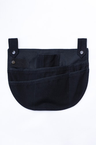 Garden pocket black-cotton
