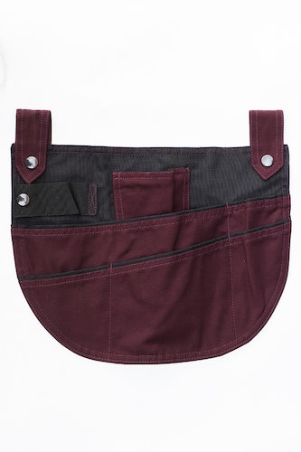 Garden pocket burgundy