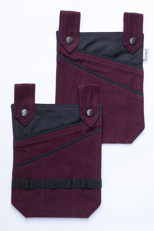 LEA pockets burgundy