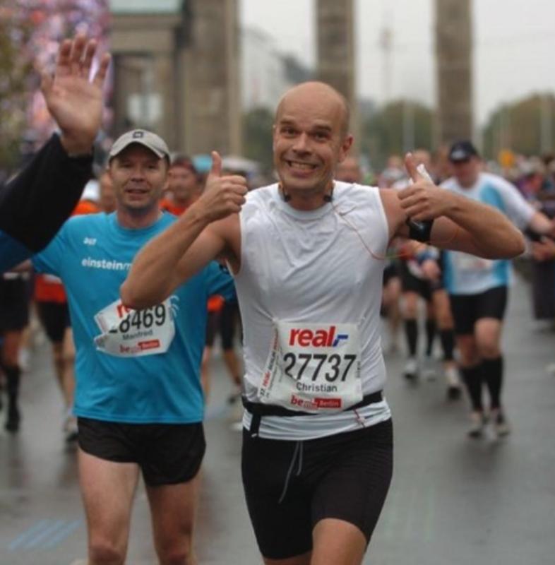 10 år siden jeg løb mit förste maraton.