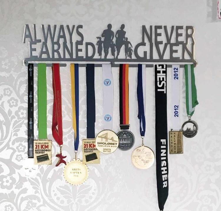 Always Earned Never Given 50cm