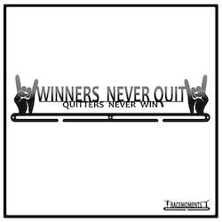 Winners Never Quit 50cm