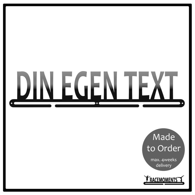 Din Egen Text - 50cm