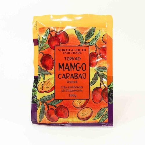 Torkad mango Carabao