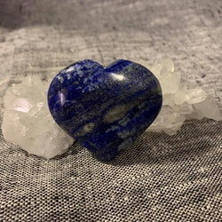 Lapiz Lazuli hjärta - ta hand om din oro