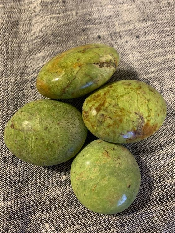 Grön Opal Jumbosten