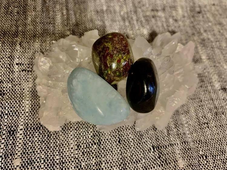 Stenpaket för kraft, magi och helande av relationer både med partner och dig själv