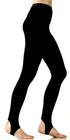 Blanka trikåer med 1/2 fot, Danskin