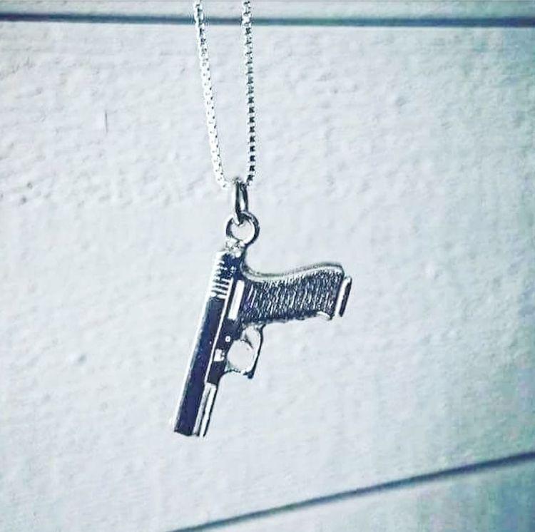 Silverpistolen Glock 17