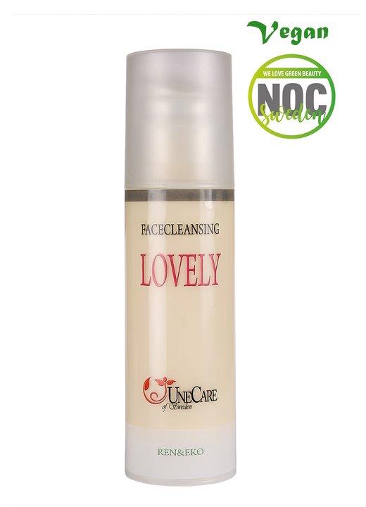 Ansiktsrengöring  Lovely Annanas/Jordgubbsdoft 150 ml Unecare