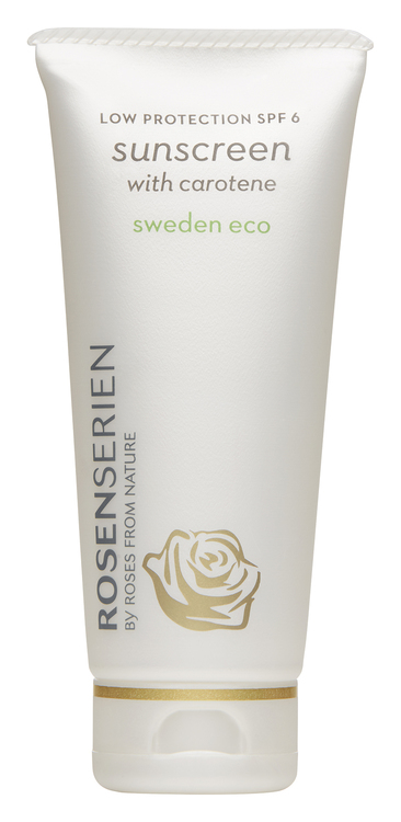 Solkräm/solskydd  Sunscreen with Carotene Rosenserien 100 ml