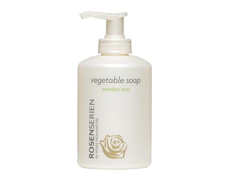 Tvål vegetable soap Rosenserien 300 ml