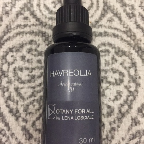 "Havreolja ""Botany for all"" Lena Losciale 30 ml"