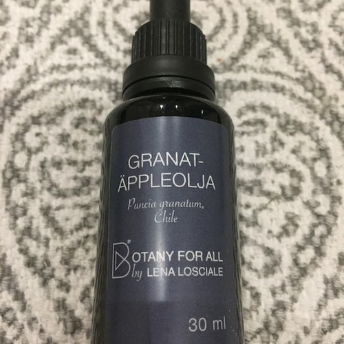 "Ansiktsolja Granatäpple ""Botany for all"" Lena Losciale 30 ml"