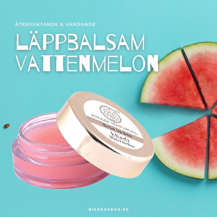 Läppbalsam Vattenmelon khadi Natural