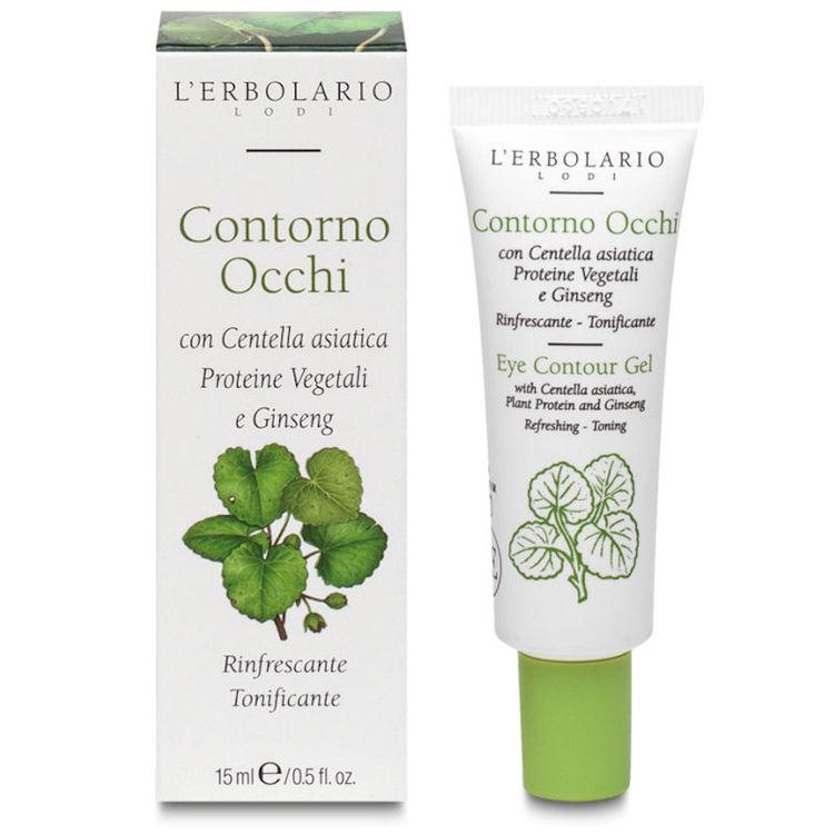 Ögonkräm/gel asiatisk centella Lérbolario 15 ml