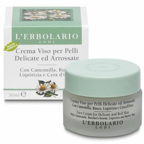 Ansiktskräm Kamomill (känslig hud) Lerbolario 30 ml