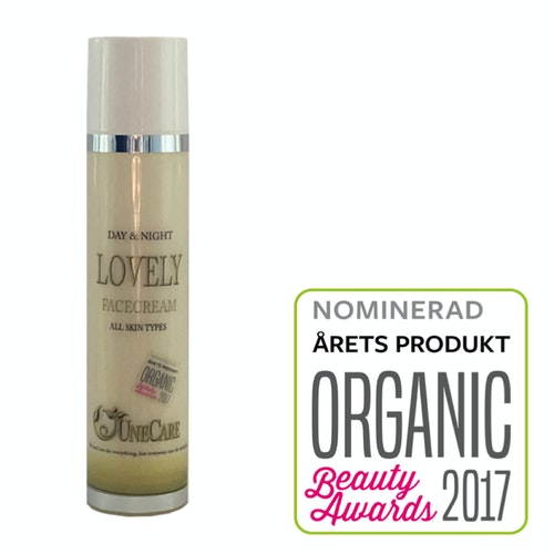 Lovely day &  night Unecare 100 ml (500:-)NU:360:-