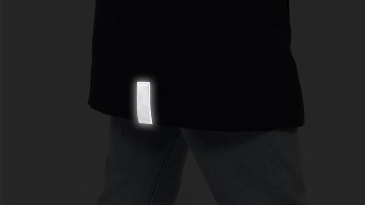 2-pack svart reflex Clip-on magnet, Bookman