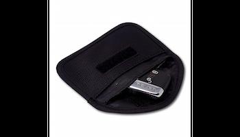 Minifodral mot skimming av bilnyckel - svart