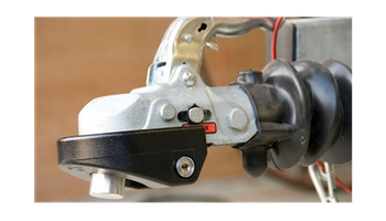 CombiLock godkänt släpvagnslås - GRÖN 60mm