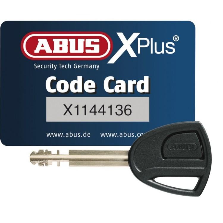 ABUS MC-lås med larm