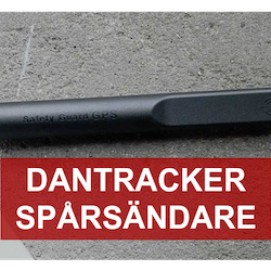 Dantracker spårsändare - Safety guard IA Intern Antenn