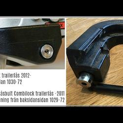 Låsbult för CombiLock Trailerlås 2012-