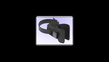 Vaherlås ABUS 85 cm svart