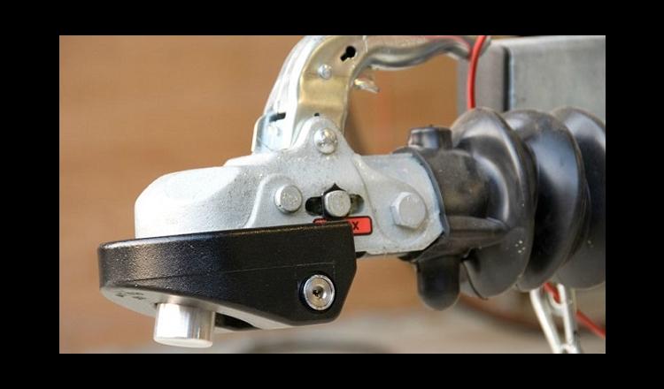 CombiLock ssf godkänt släpvagnslås - SVART 77.5 mm - Klass 3