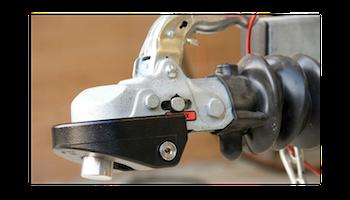 CombiLock godkänt släpvagnslås - SVART 77.5 mm