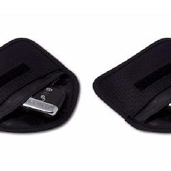 2-pack Minifodral mot skimming av bilnyckel - svart