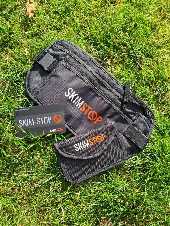 2-pack Skimstop minifodral mot skimming av bilnyckel - svart