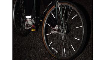 Reflex eker till cykel eller barnvagn