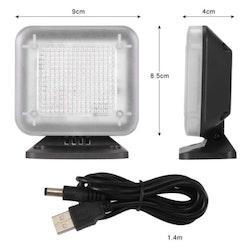 Simulerad TV (USB) som stöldskydd