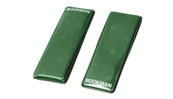 2-pack grön reflex Clip-on magnet, Bookman