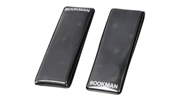 2-pack svart reflex Clip-on magnet, Bookman