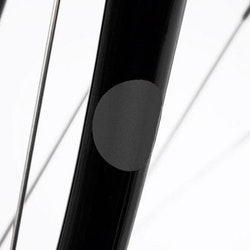 12 st klistermärken reflex svarta cirklar, Bookman