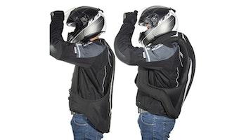 HELITE Airbag Turtle 2 svart, MC väst + extra patron