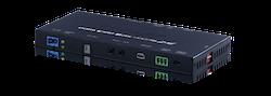 HDBaseT sändare, 4K@60Hz, HDR, PoH, AVLC, OAR, 100Mbit/s data