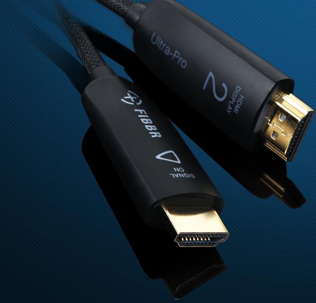 Ultra Pro HDMI Fiberkabel HDMI 2.0 18Gbps 45m