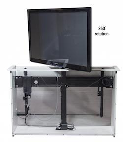 Tv - Lyft / Hiss 95cm med rotation och lucköppnare inkluderat!