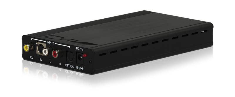 Komposit / S-VIDEO till HDMI med Audio DEMO