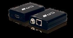 HDMI över Singel Cat 5e/6/7 med IR, KiT DEMO