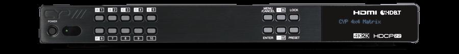 CYP/// 4x4+2 HDMI till HDBaseT Matris, HDCP 2.2, 4K, PoH, 60m