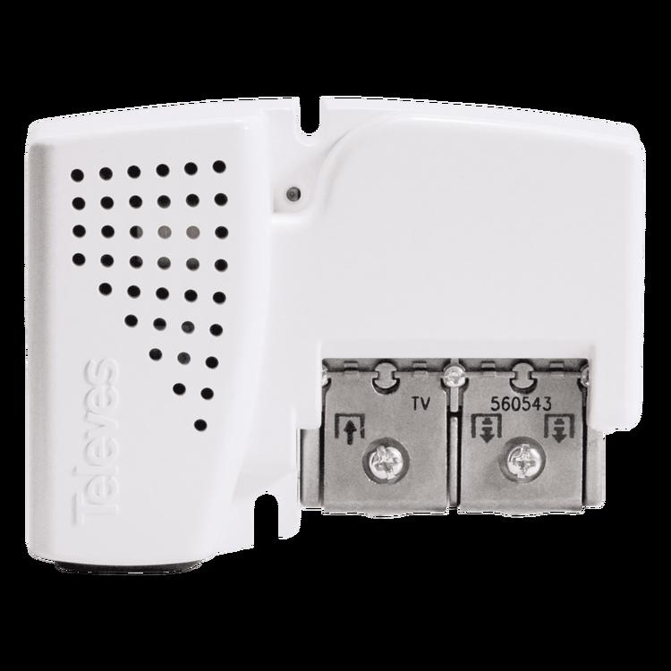 Distributionsförstärkare antenn 1:2 (+1) uppgradering